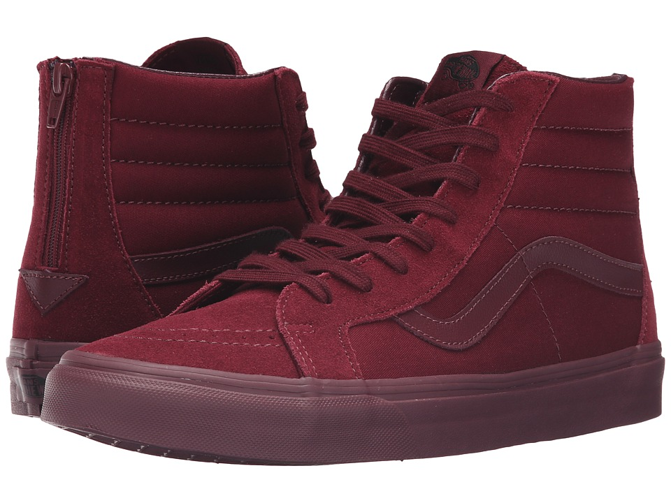 Vans - SK8-Hi Reissue Zip ((Mono) Port Royale) Lace up casual Shoes