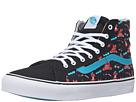 SK8-Hi Slim ((Dabs Myla) Multi/Black) Skate Shoes