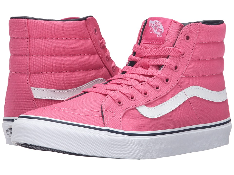 Vans - SK8-Hi Slim (Camellia Rose/Parisian Night) Skate Shoes