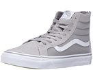 SK8-Hi Slim Zip ((Pop) Silver Sconce) Skate Shoes