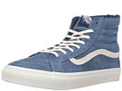SK8-Hi Slim Zip ((Scotchgard) Obsidian/Blanc de Blanc) Skate Shoes