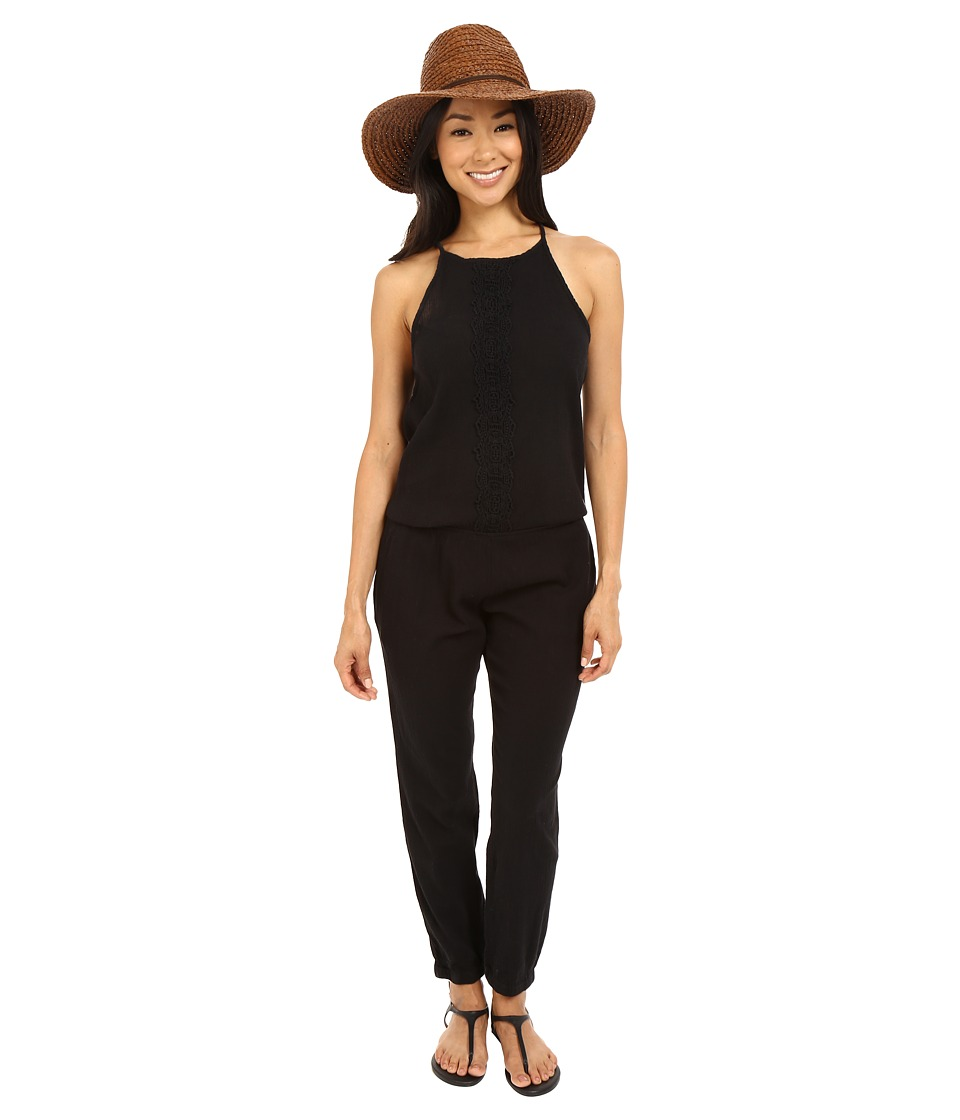 Rip Curl - Daybreak Jumpsuit (Black) Women's Jumpsuit & Rompers One Piece