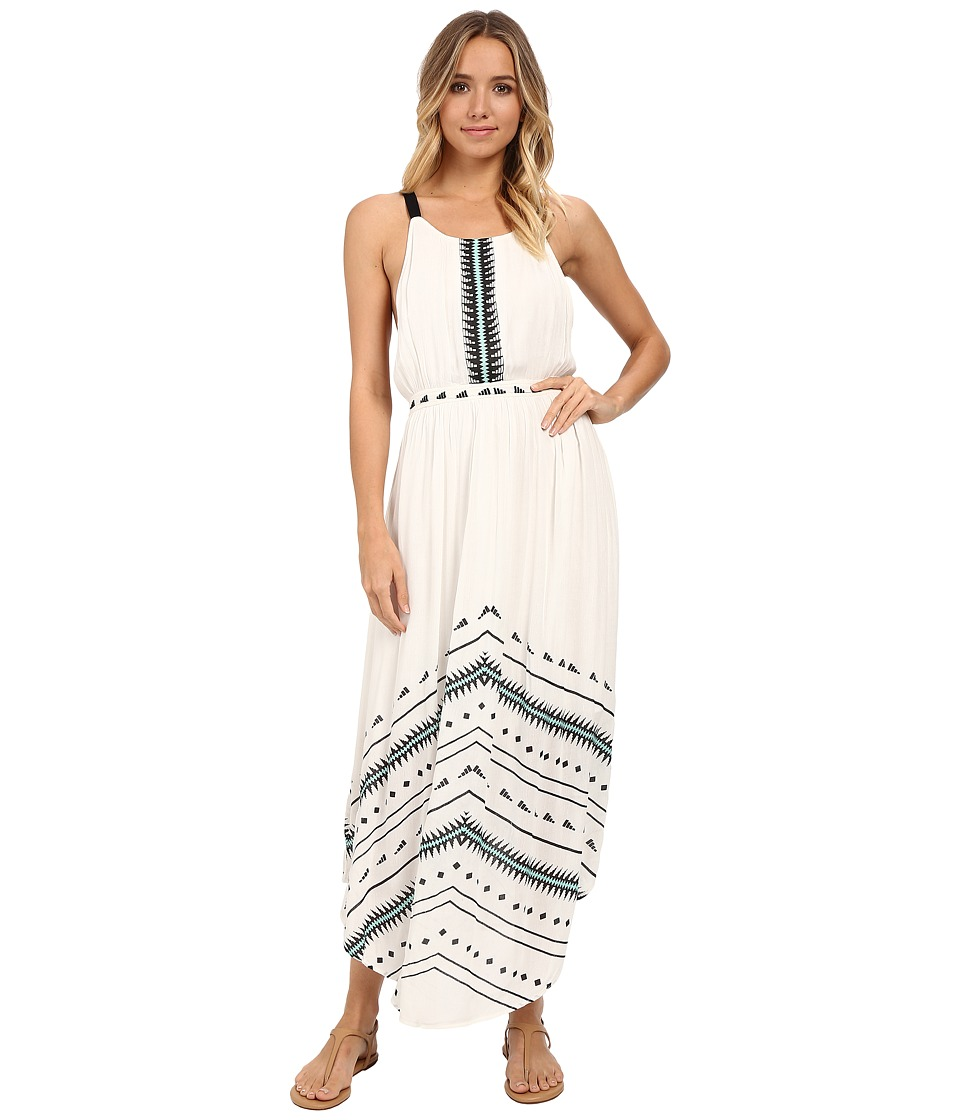 Rip Curl - Electric Beach Maxi Dress (Vanilla) Women's Dress