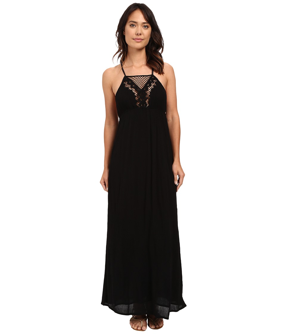 Rip Curl Vagabound Maxi Dress (Black) Women