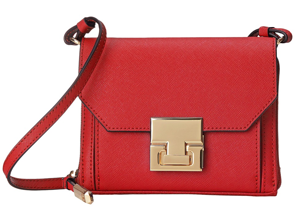 Ivanka Trump - Hopewell Crossbody Wallet (Lipstick) Cross Body Handbags