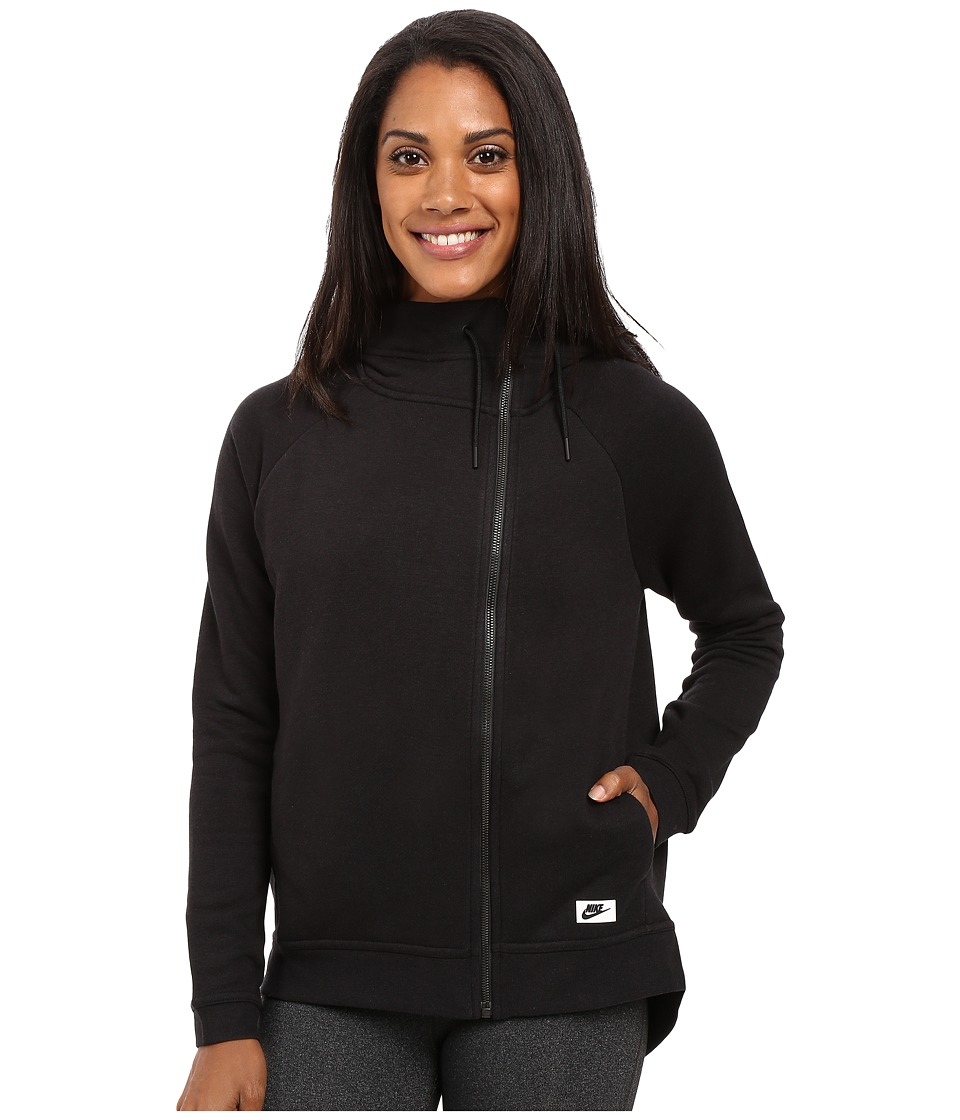 Nike - Sportswear Modern Cape (Black/Black/Black Oxidized) Women's Clothing