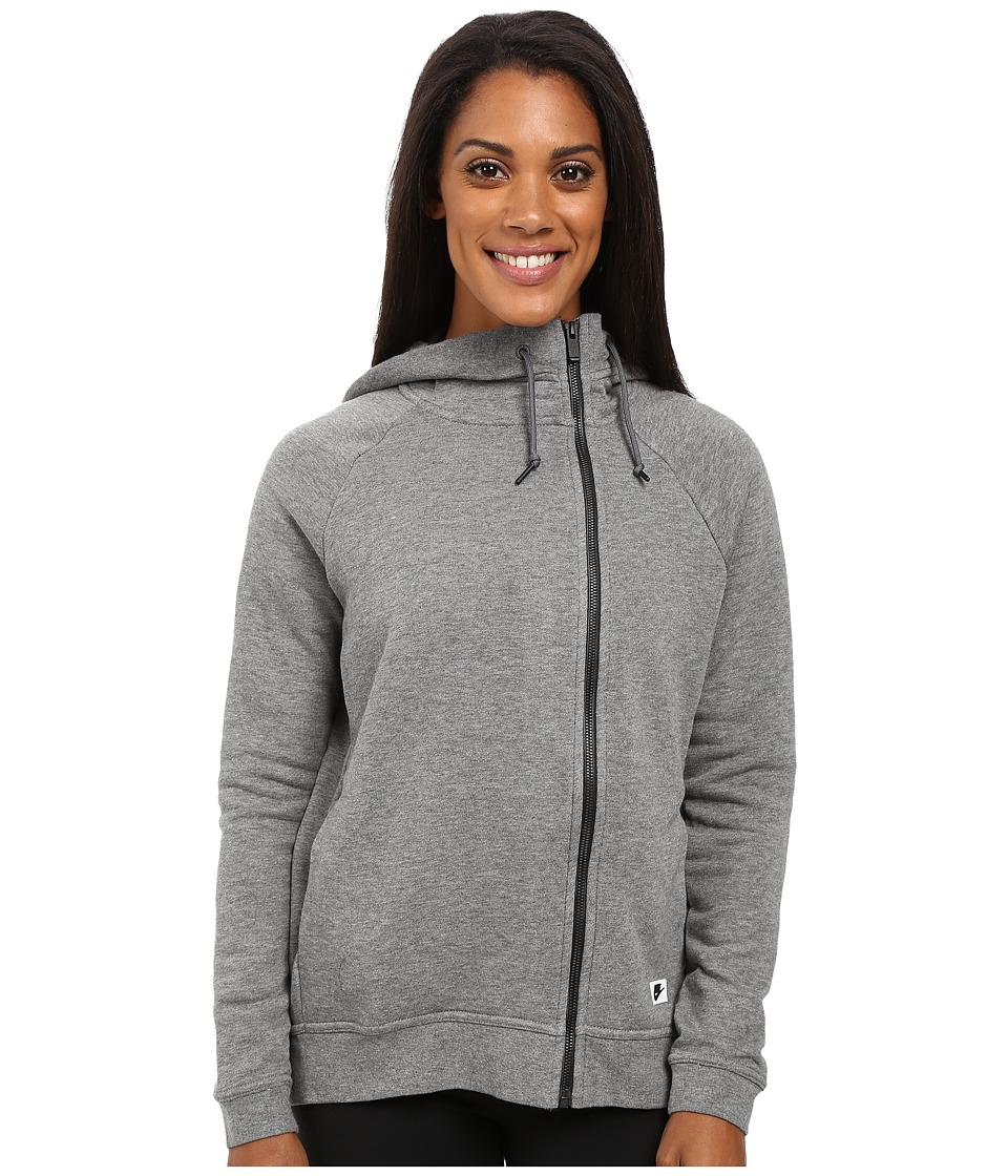 Nike - Sportswear Modern Cape (Carbon Heather/Dark Grey/Black Oxidized) Women's Clothing