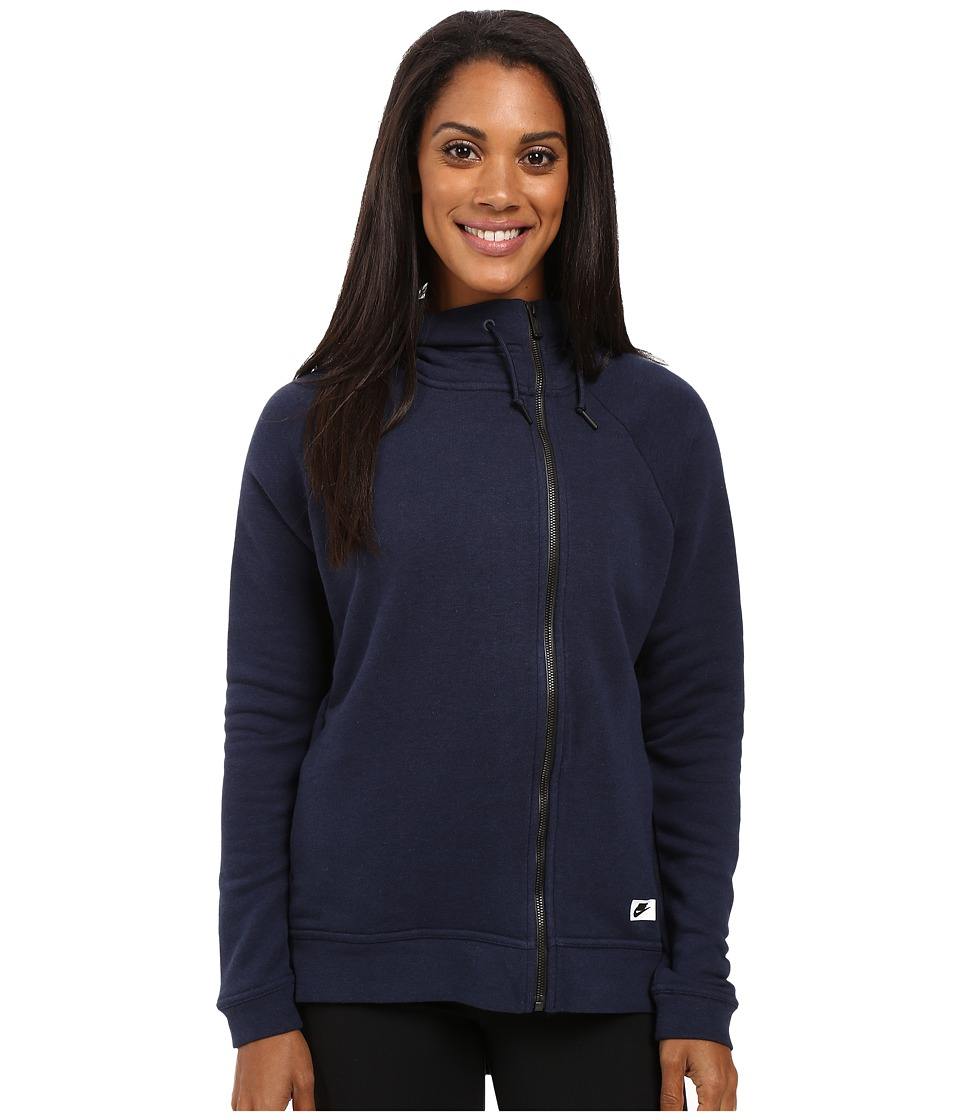 Nike - Sportswear Modern Cape (Obsidian/Obsidian/Black Oxidized) Women's Clothing