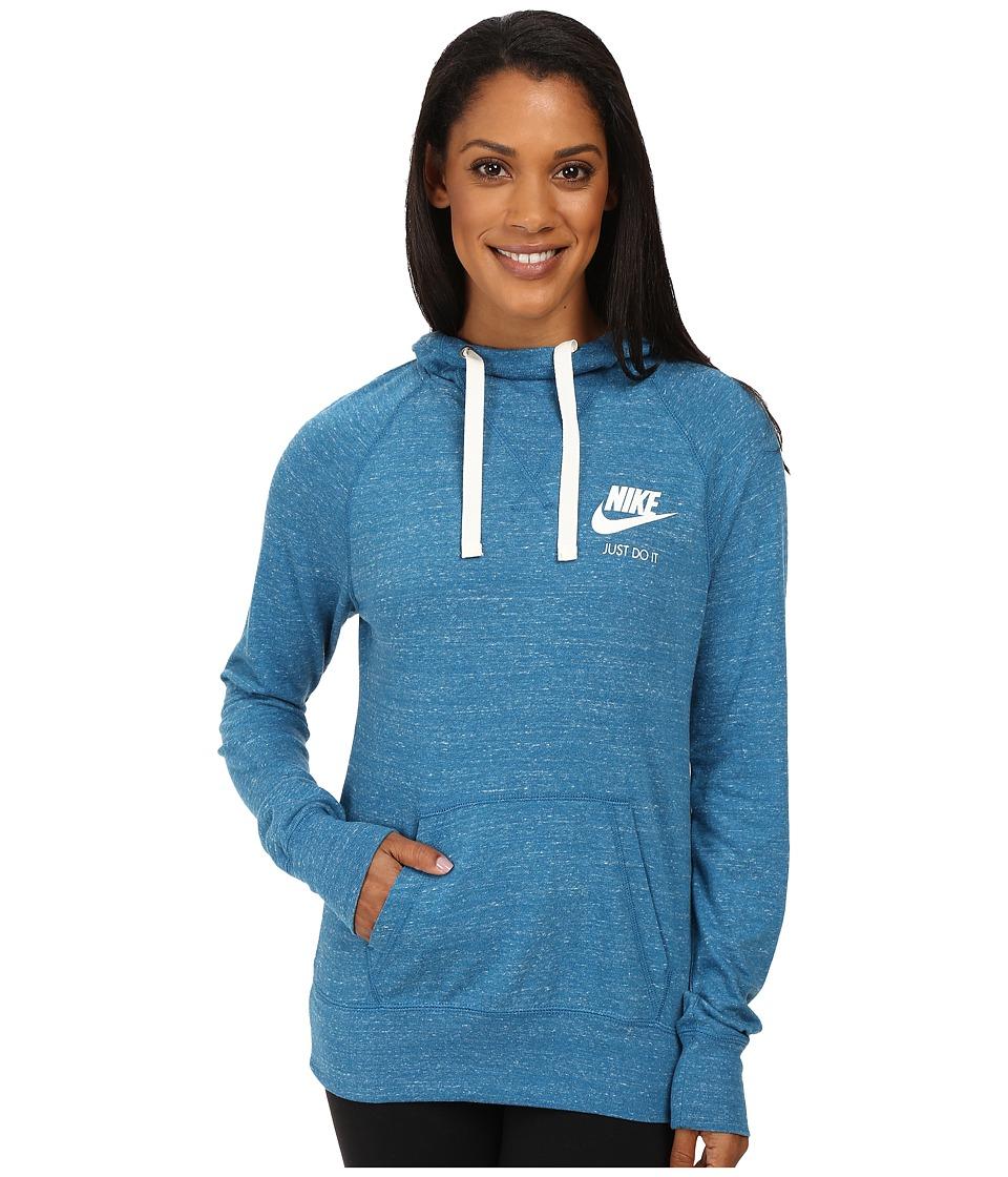 Nike - Gym Vintage Hoodie (Green Abyss) Women's Sweatshirt