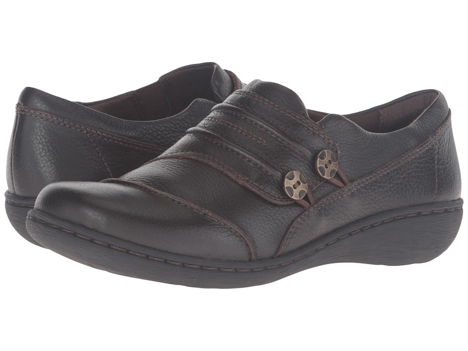 Clarks - Fianna Still (Brown) Women's Shoes