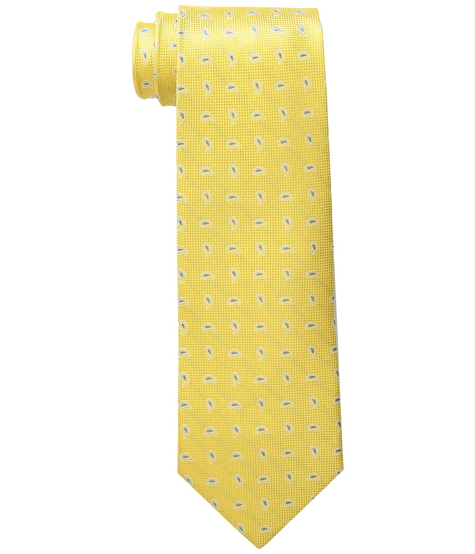 Tommy Hilfiger - Oxford Pine (Yellow) Ties