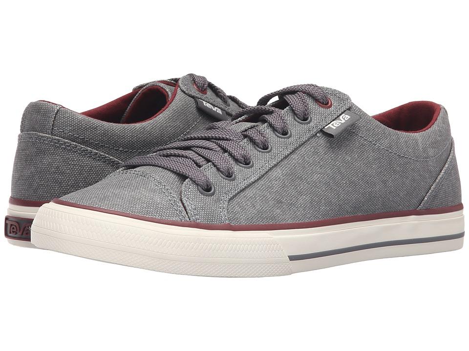 Teva - Roller Washed Canvas (Grey) Men's Shoes