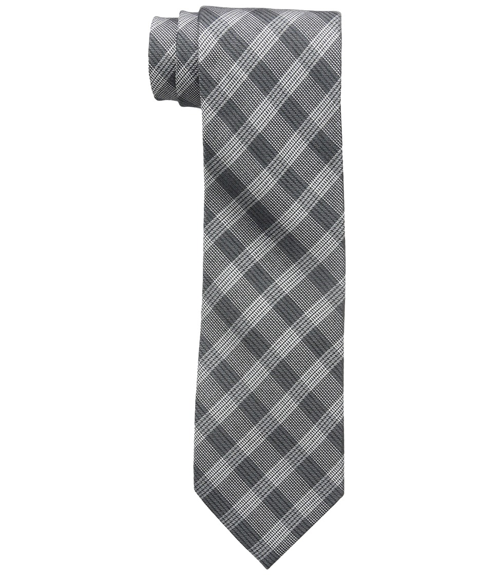Calvin Klein - Schoolboy Glenn Plaid (Black) Ties