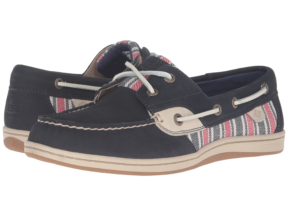 Sperry - Koifish Stripe (Navy 1) Women's Lace up casual Shoes