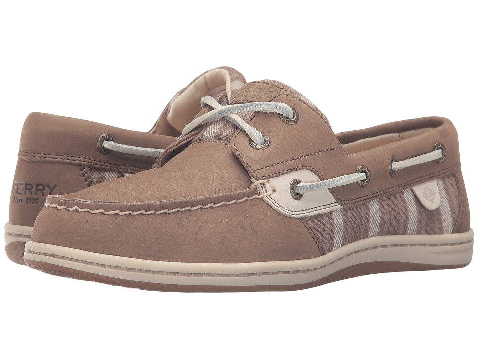 Sperry - Koifish Stripe (Taupe) Women's Lace up casual Shoes