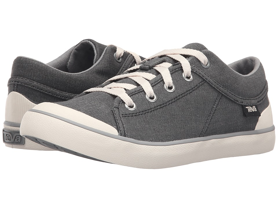 Teva Freewheel Washed Canvas (Black/Grey) Women