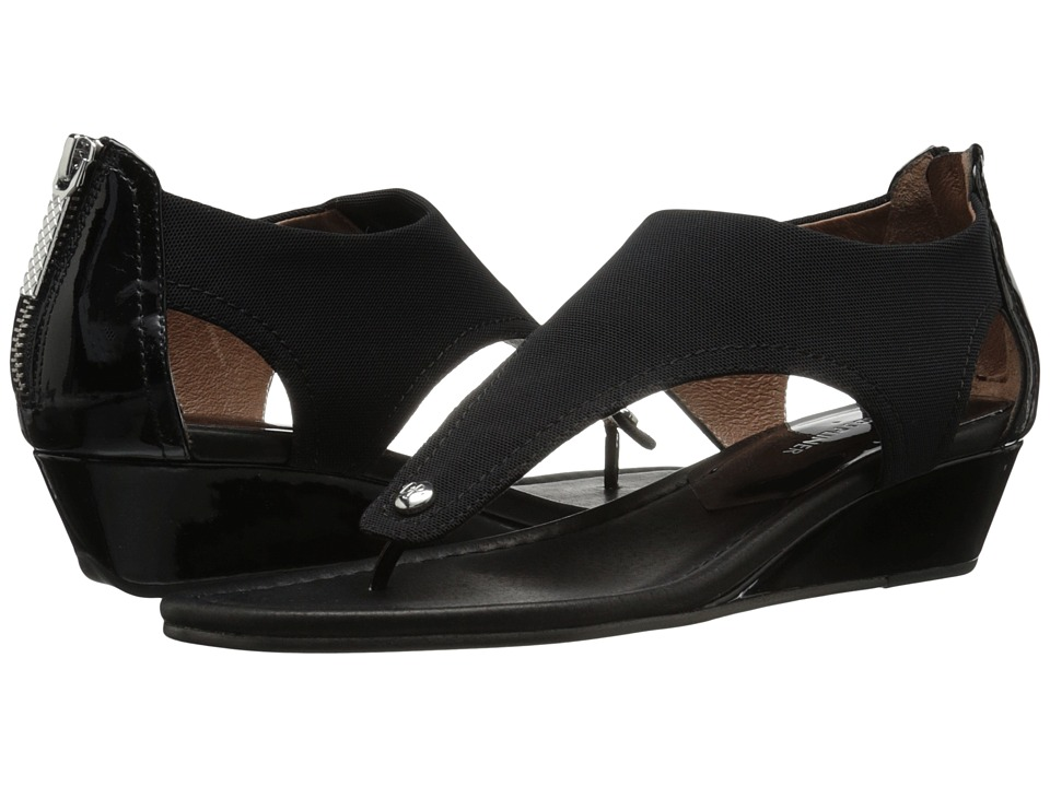 Donald J Pliner - Dash (Black Crepe) Women's Wedge Shoes