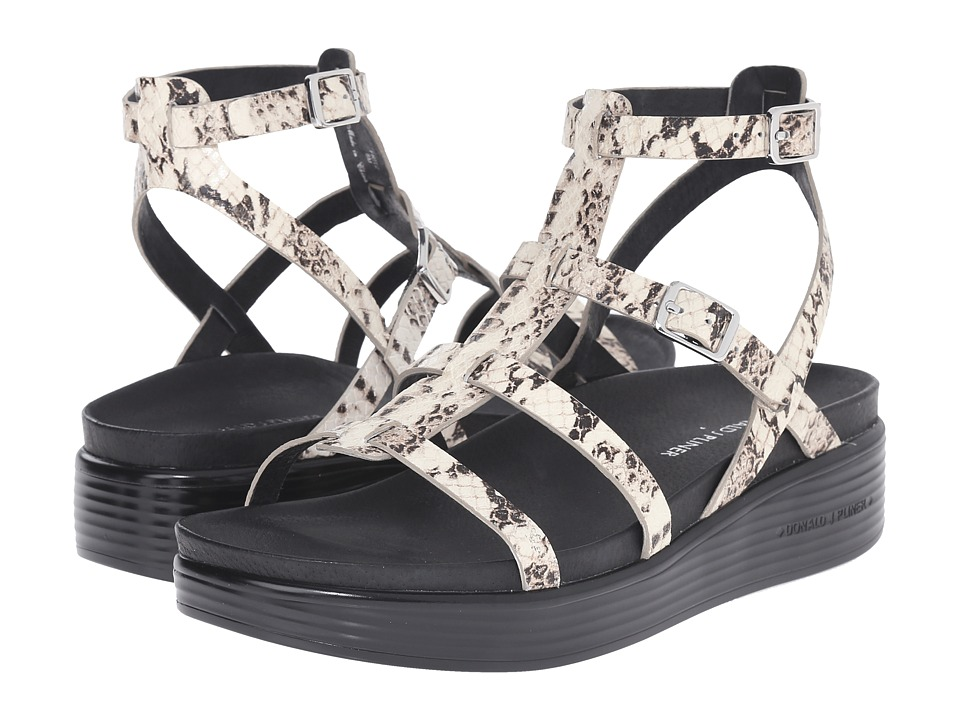 Donald J Pliner - Fritz (Black/White) Women's Sandals
