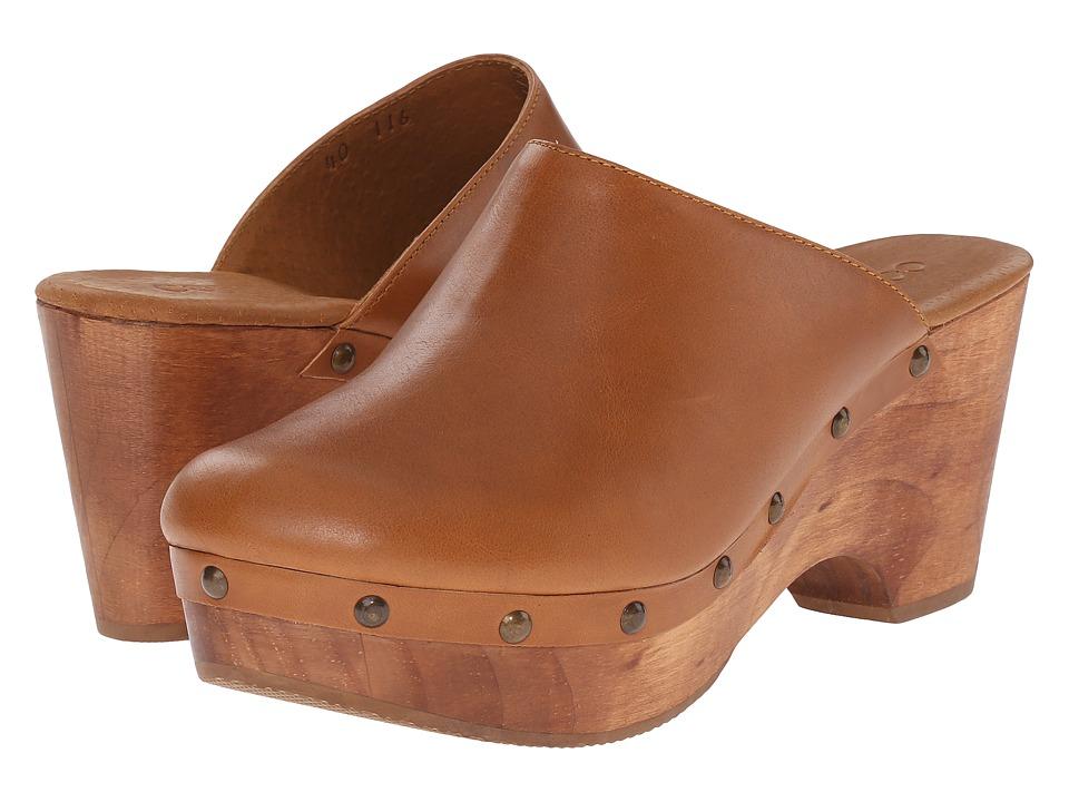 Cordani - Zorba (Walnut Leather) Women's Clog Shoes