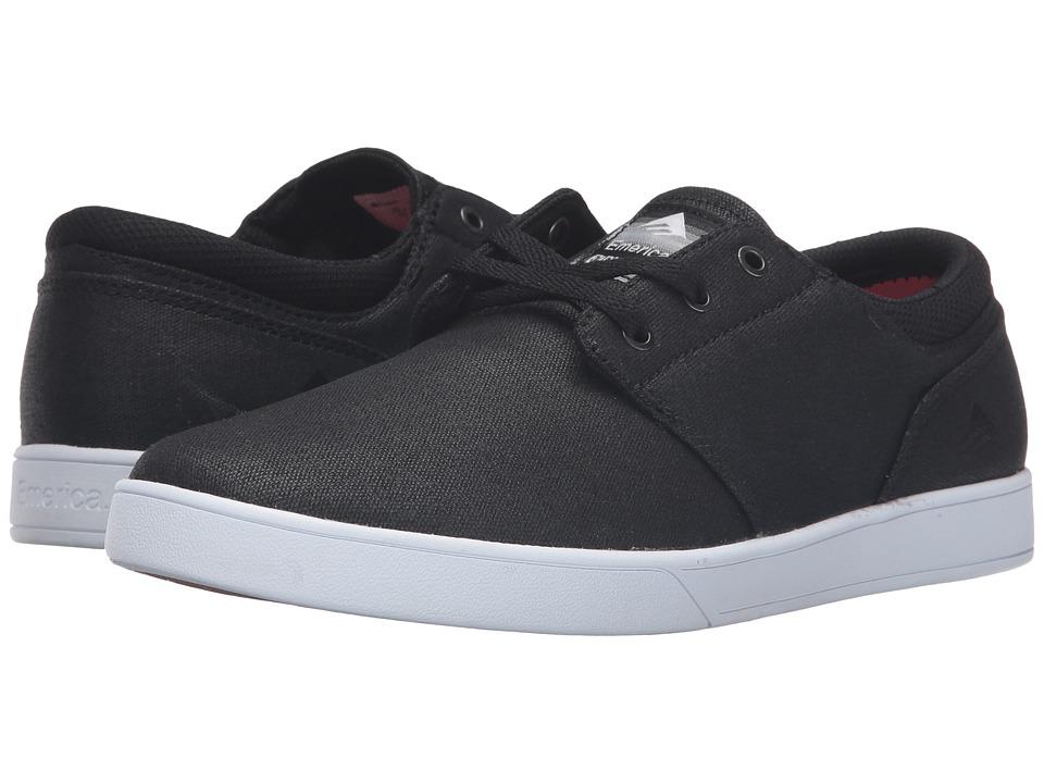 Emerica - The Figueroa (Black/White/Black) Men's Skate Shoes