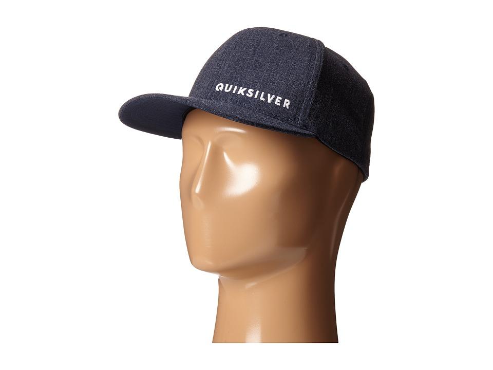 Quiksilver - Sideliner Hat (Navy Blazer) Caps