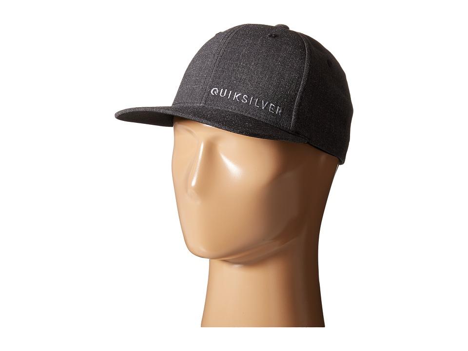 Quiksilver - Sideliner Hat (Black) Caps