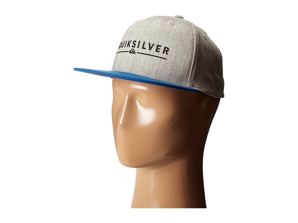 Quiksilver - Beeliner Hat (Athletic Heather) Caps