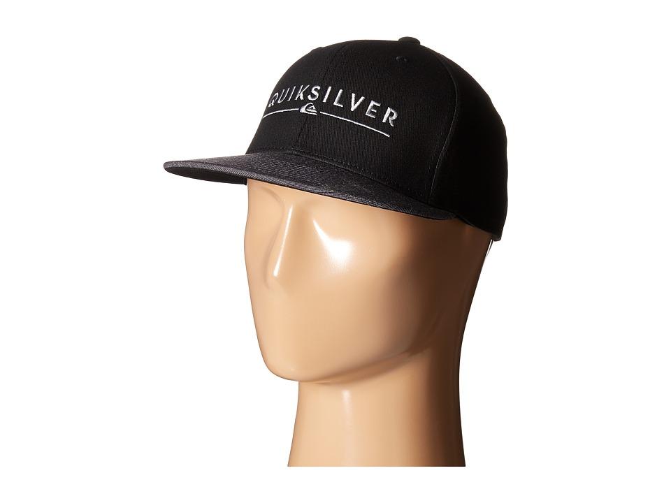 Quiksilver - Beeliner Hat (Black) Caps