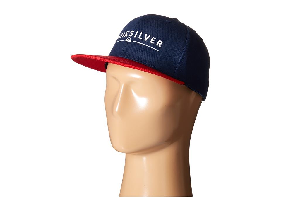 Quiksilver - Beeliner Hat (Navy Blazer) Caps