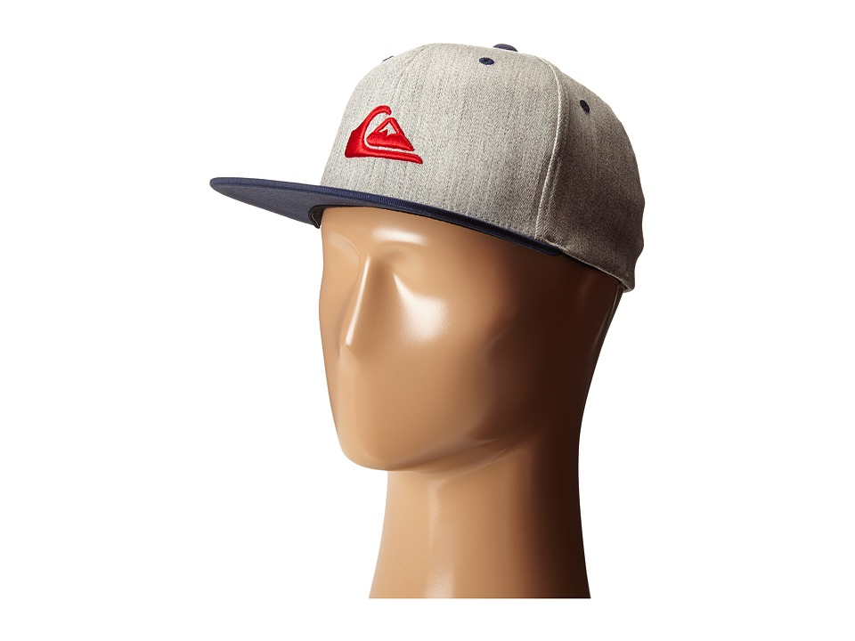 Quiksilver - Stuckles Cap (Dark Grey Heather) Caps