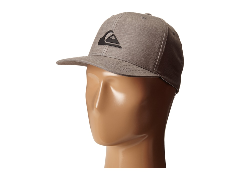 Quiksilver - Platypus Stretch Hat (Steeple Grey) Caps