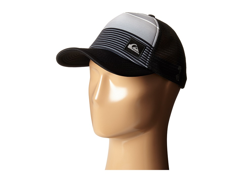 Quiksilver - Striped Out Hat (Black) Caps