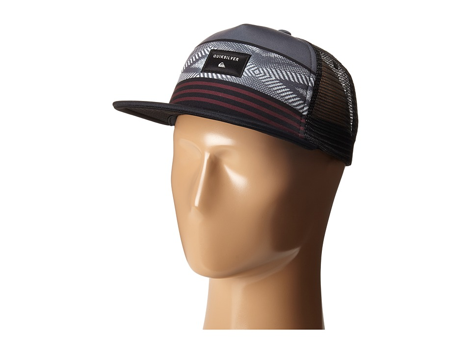 Quiksilver - Quad Block Hat (Black) Caps