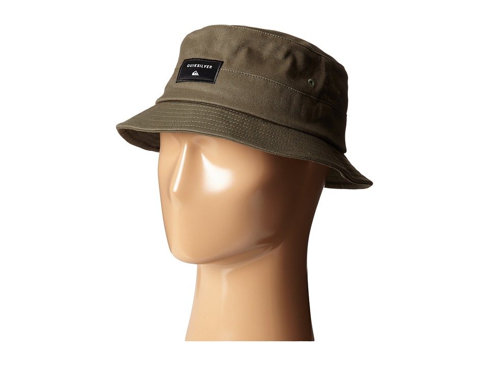 Quiksilver - Stuckit Bucket Hat (Forest Night) Bucket Caps