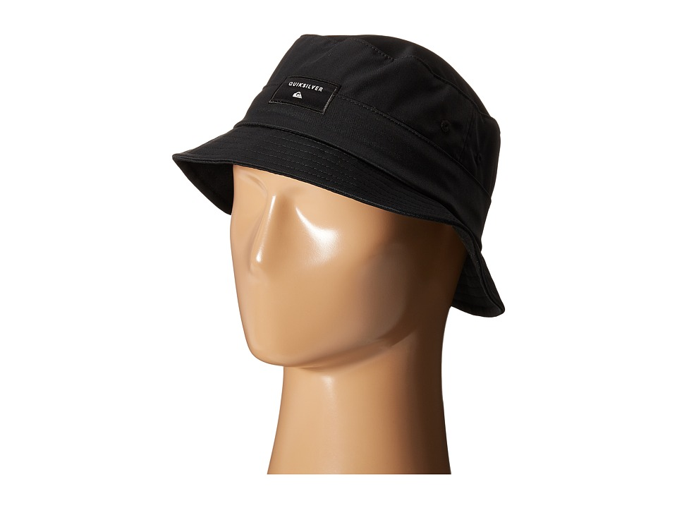 Quiksilver - Stuckit Bucket Hat (Black) Bucket Caps
