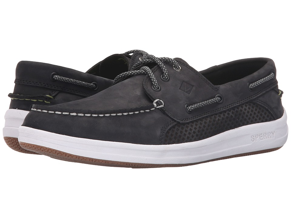 Sperry - Gamefish 3-Eye (Black) Men's Lace up casual Shoes