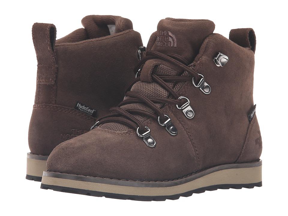 The North Face Kids - Jr Ballard WP (Little Kid/Big Kid) (Coffee Brown/Terrarium Green) Boys Shoes