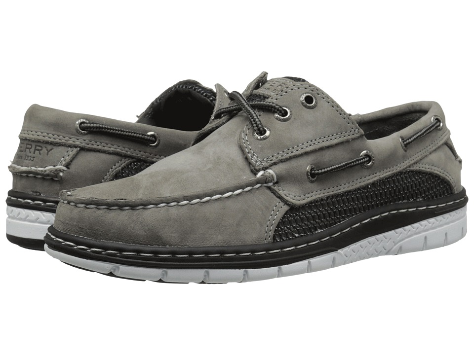 Sperry - Billfish Ultralite 3-Eye (Grey) Men's Lace up casual Shoes