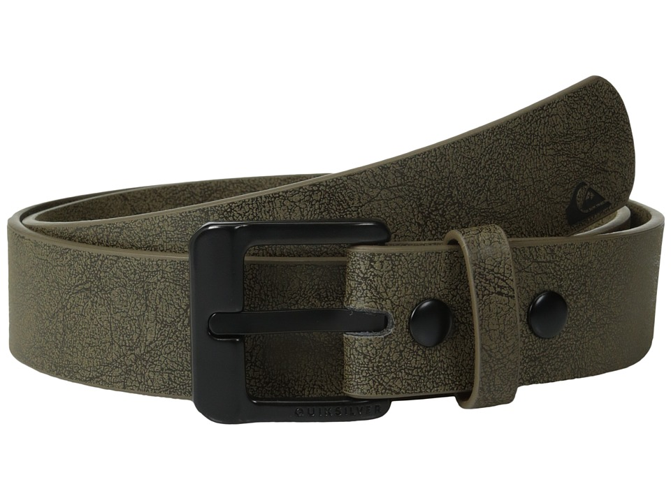 Quiksilver - Main Street Belt (Chocolate) Men's Belts