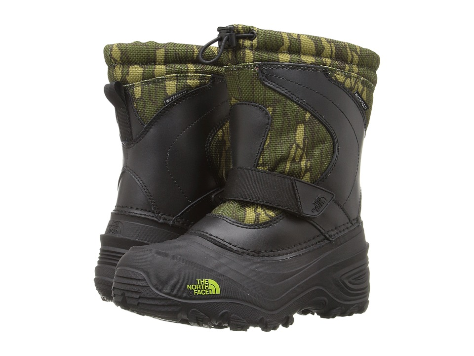 The North Face Kids - Alpenglow Pull-On II (Toddler/Little Kid/Big Kid) (TNF Black/Tree Bark Camo) Boys Shoes
