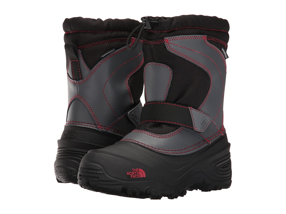 The North Face Kids - Alpenglow Pull-On II (Toddler/Little Kid/Big Kid) (TNF Black/TNF Red) Boys Shoes