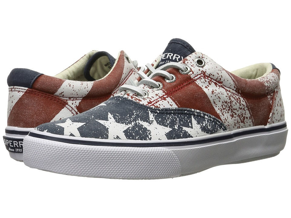 Sperry Top-Sider Striper LL CVO Stars Stripes (Red/White/Blue) Men