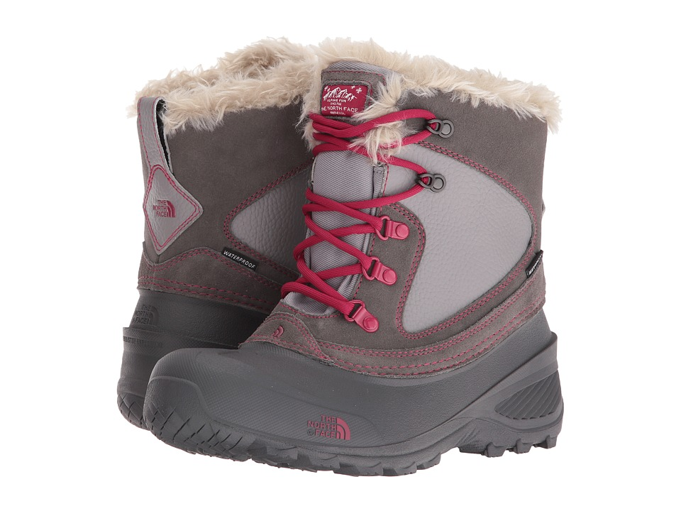 The North Face Kids Shellista Extreme (Toddler/Little Kid/Big Kid) (Dark Gull Grey/Cerise Pink) Girls Shoes