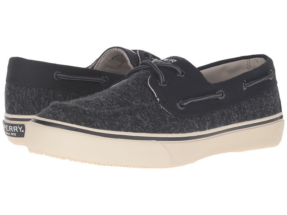 Sperry Top-Sider - Bahama 2-Eye Jersey (Black) Men's Lace up casual Shoes
