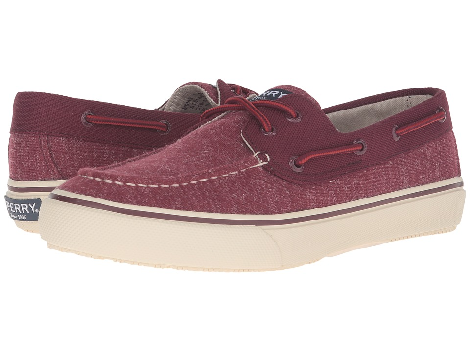 Sperry - Bahama 2-Eye Jersey (Red) Men's Lace up casual Shoes