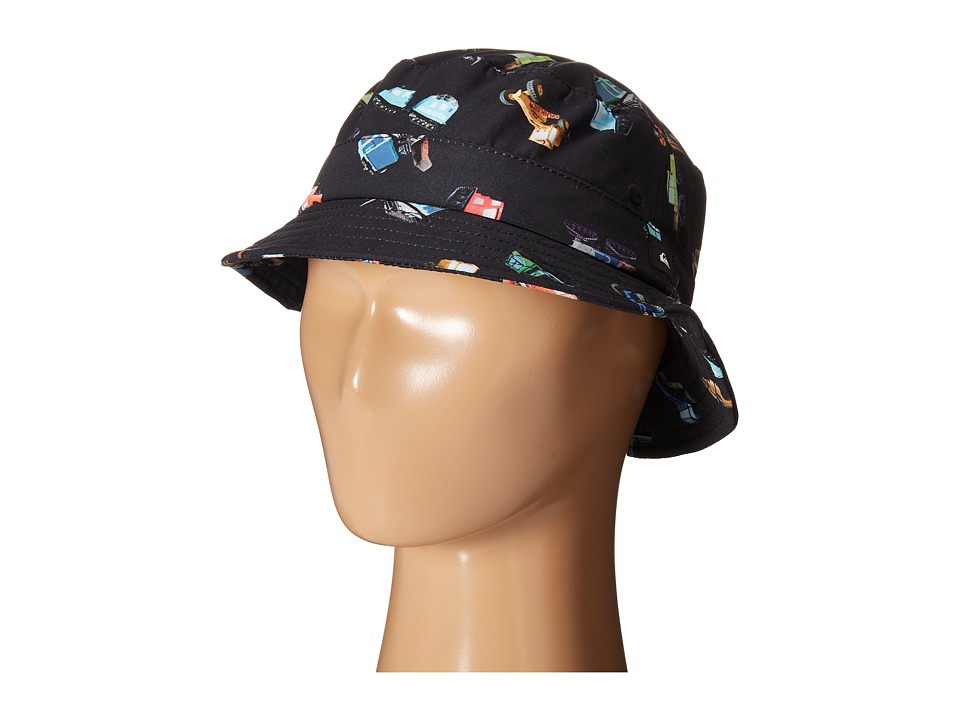 Quiksilver - Max The Full Bucket Hat (Little Kid/Big Kid) (Maxthefull Black) Bucket Caps