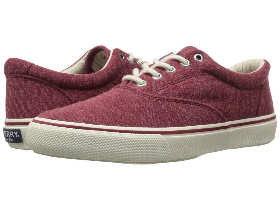 Sperry Top-Sider - Striper LL CVO Jersey (Red) Men's Lace up casual Shoes