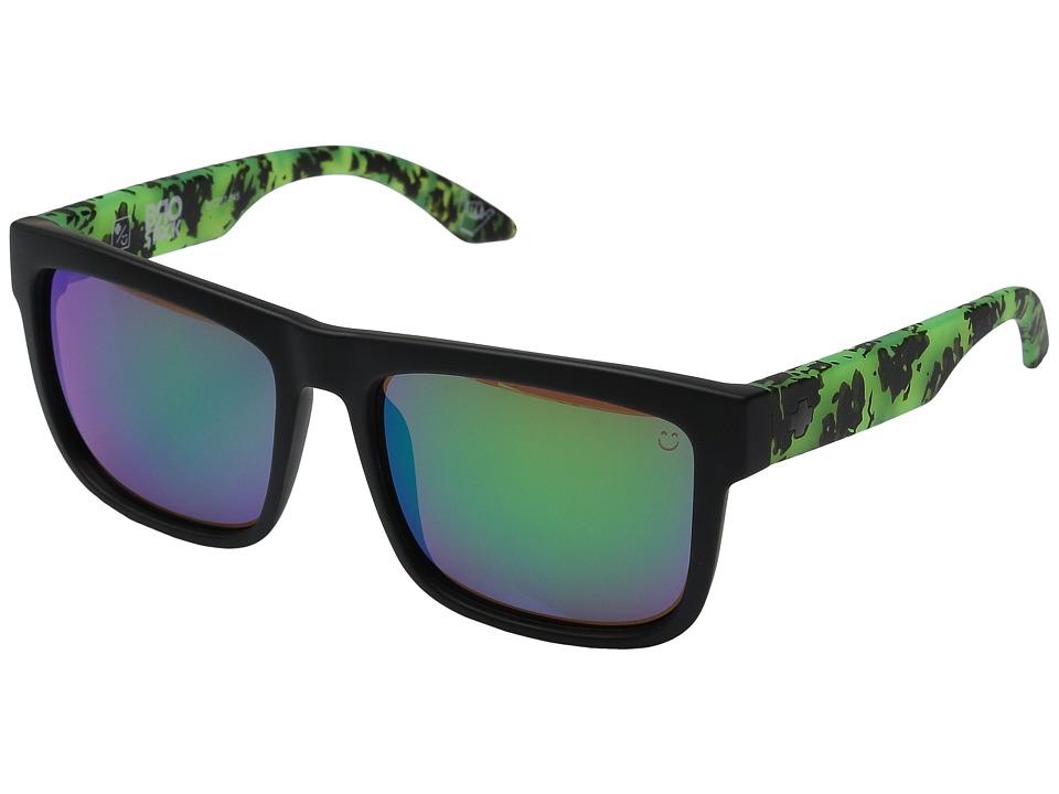 Spy Optic - Discord Brostock (Happy Bronze w/ Green Spectra) Sport Sunglasses