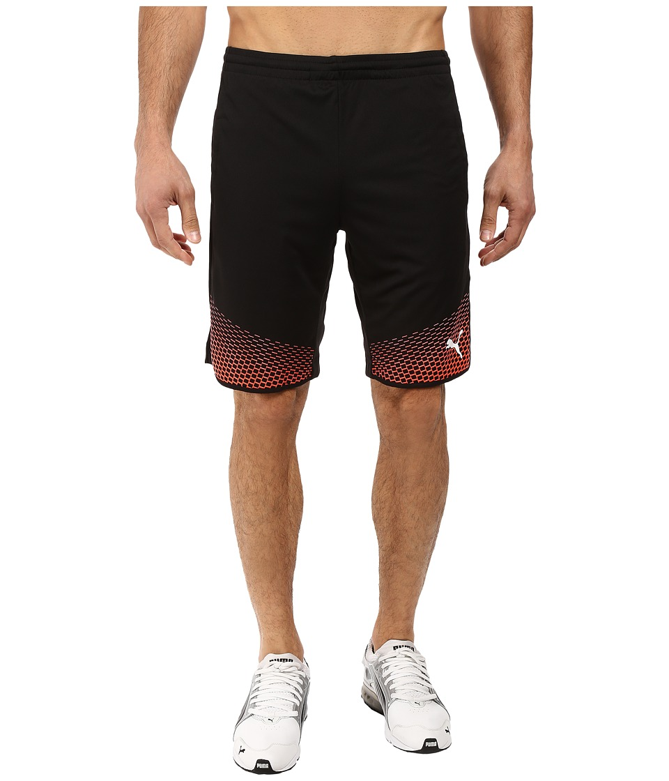PUMA - IT EVOTRG Shorts Touch (Puma Black/Red Blast) Men's Shorts