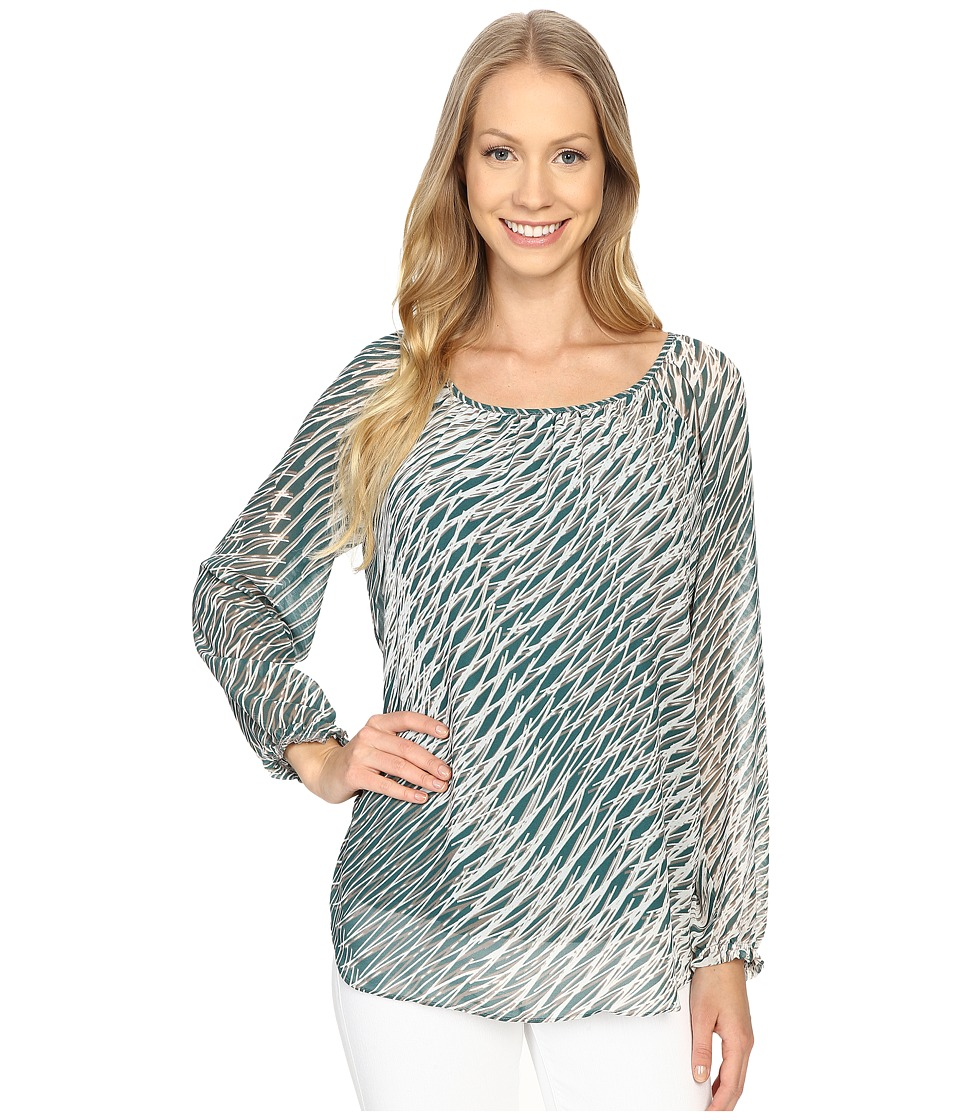 NIC+ZOE - Endless Nights Top (Multi) Women's Clothing